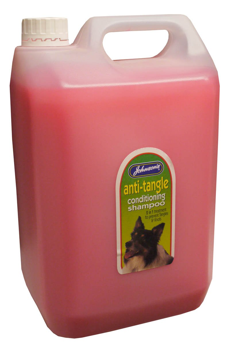 Johnson's Veterinary Products Jvp Dog Anti-Tangle Conditioning Shampoo 5 LTR
