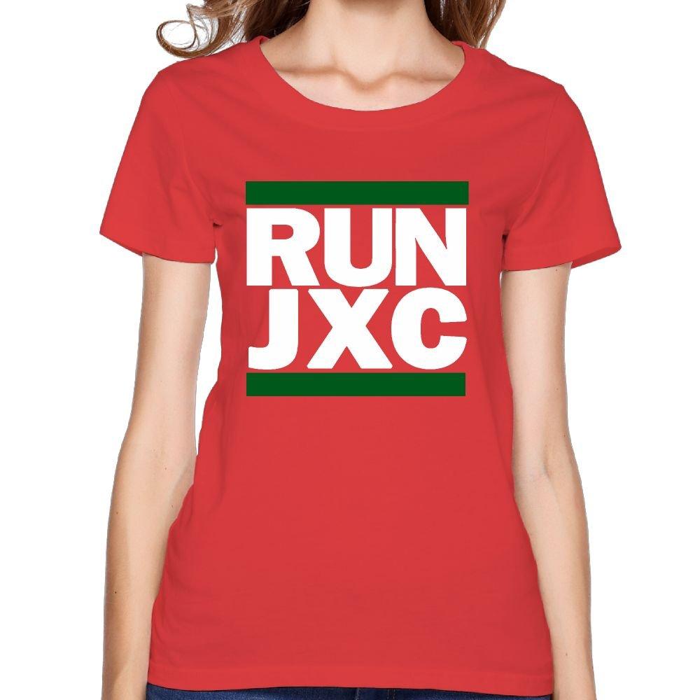 Oyavdsznq Run Jxc Crew And Green Fashion Jogging Red Tshirt Short Sleeve