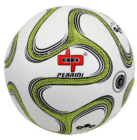 ファシズム残酷誇張する8313 Perrini - Official Size 5 Brazuca Soccer Ball Green