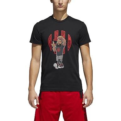 timeless design 2f4a4 7cc11 Adidas Harden Cookin Geeked Up T-Shirt
