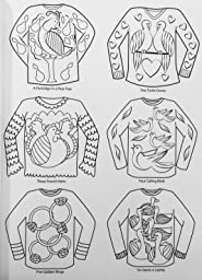 Amazon Com Creative Haven Ugly Holiday Sweaters Coloring