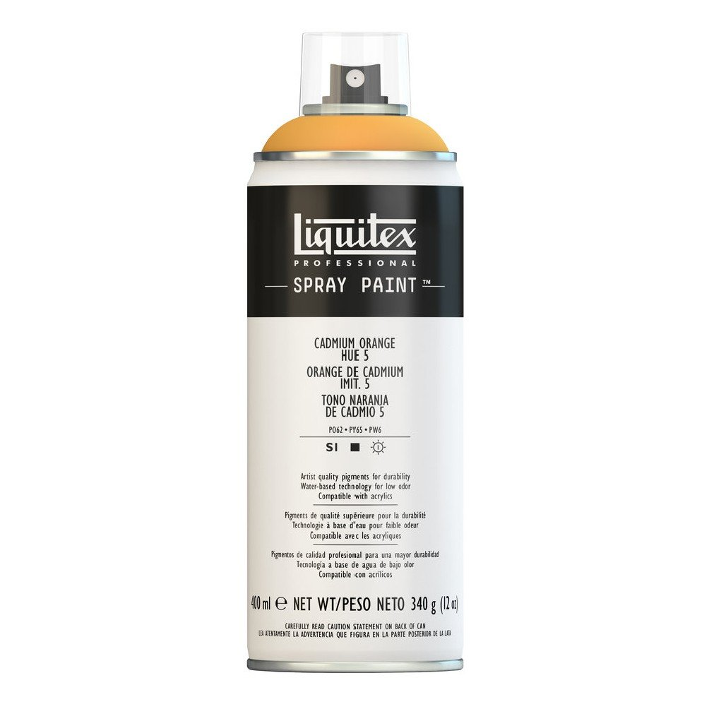 Liquitex プロフェッショナル スプレーペイント 12オンス 400ml Can オレンジ 4455720 B008N7HDIE Cadmium Orange Hue 5 Cadmium Orange Hue 5