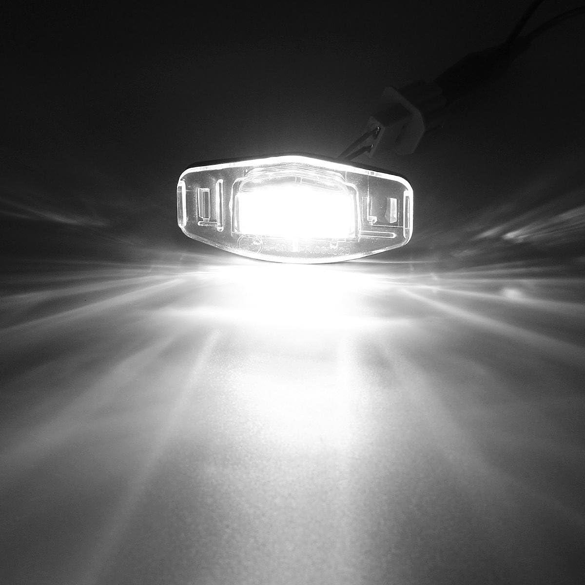 Número De Matrícula Luces-Blanco brillante LED SMD Honda Civic 10th GEN 2016
