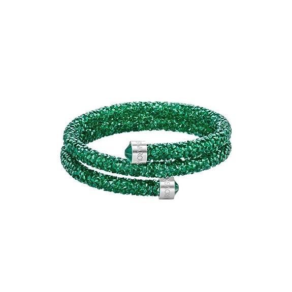 Swarovski Mujer metal común verde cristal