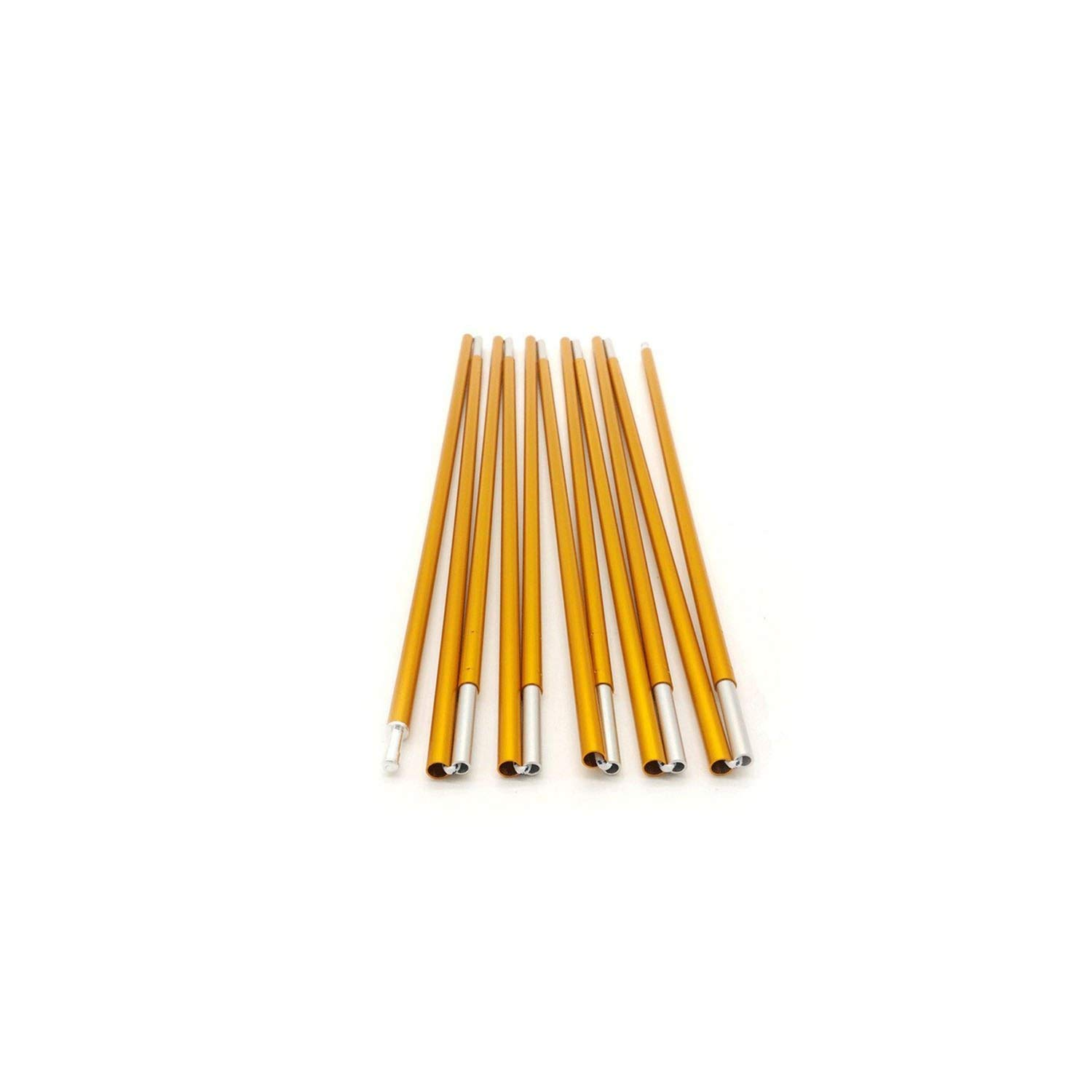 5 people tent pole Tent Stakes2Pcs Set Outdoor Camping Tent Pole Aluminum Alloy Tent Rod Spare Replacement 8.5Mm Tent Support Poles Tent Accessories