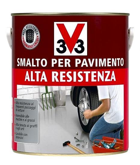 Vernice Per Pavimenti Ad Alta Resistenza, Colore Terra Cotta 500 Ml