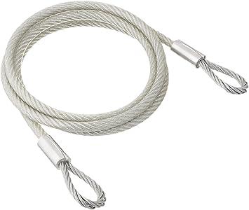 Amazon Com Tie Down 50570 Galvanized Cable Vinyl Coated 1 4 Inch Id X 3 8 Inch Od 6 Feet Automotive