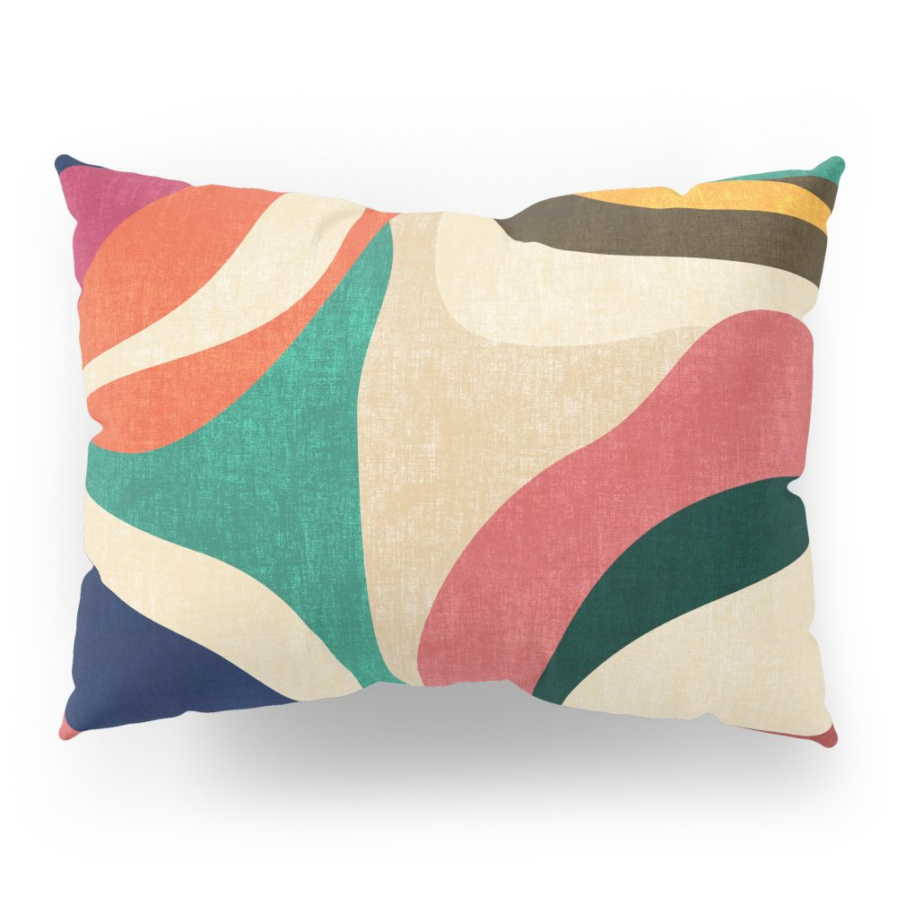Society6 Impossible Contour Map Pillow Sham Standard (20'' x 26'') Set of 2