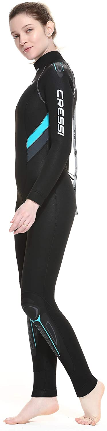 Cressi Castoro Lady - Traje Monopieza de Buceo Neopreno 5mm High Stretch para Mujer