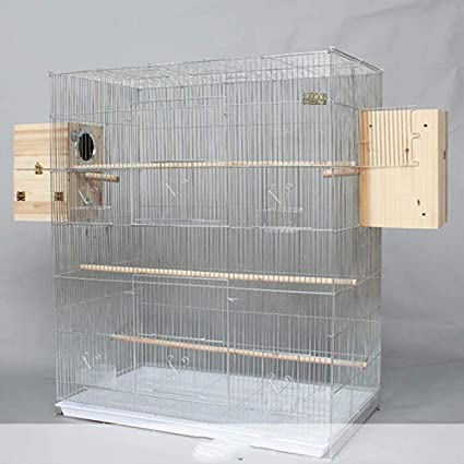 GL-birdcage Jaula de pájaros Grande de Metal para pequeños Loros ...