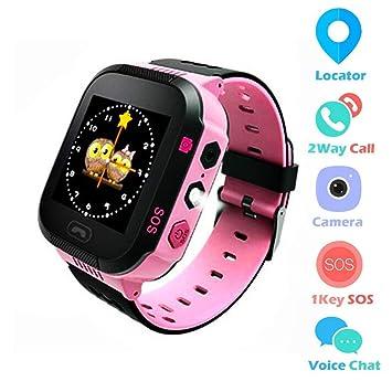Amazon.com: Sinbeda - Reloj inteligente para niños, con ...