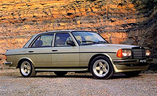 Amazon Com 1987 Mercedes Benz Amg 280e W123 Automobile Photo Poster