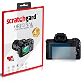 Scratchgard Canon EOS M50 Anti Bubble and Fingerprint High Definition Clear PET Screen Protector