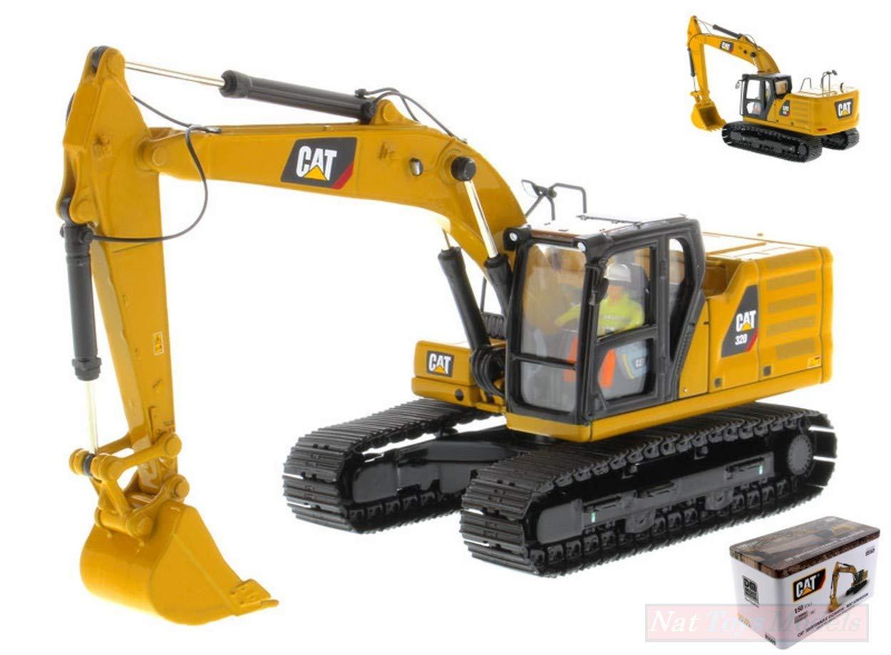 DIECAST Master DM85569 CAT 320 Hydraulic Excavator Next GENERAT.1:50 DIE CAST