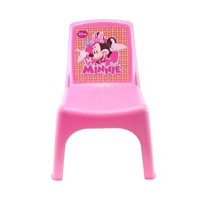 084106 Silla Bildo e infantil de plástico coloreado Minnie 43x26x24 cm: Hogar
