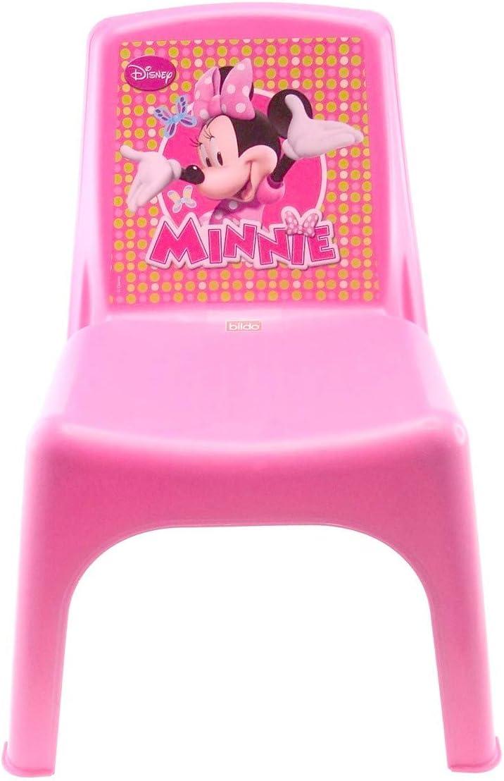 35/x 36,5/x 51,5/cm en Plastique Rose PROGARDEN 46214/Enfants Fauteuil empilable SEDIA Baby Princess