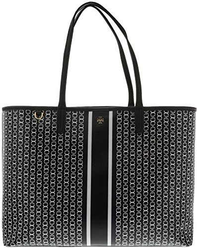 Tory Burch Gemini Link Tote in Black Gemini Link - Burch Tory Clearance Sale