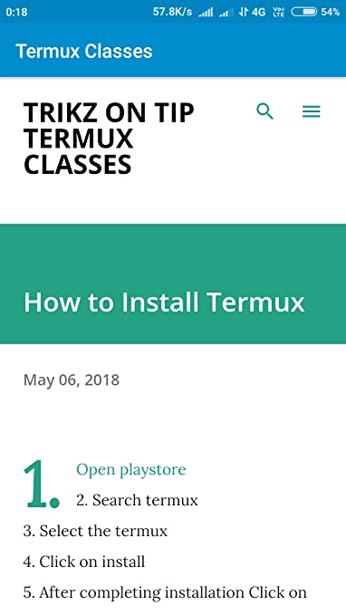 Amazon com: Termux Classes: Appstore for Android
