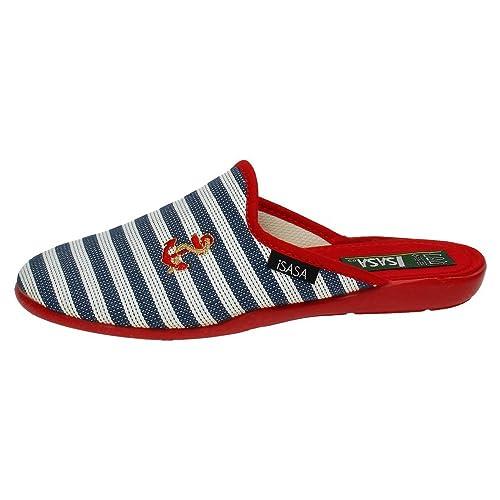 ISASA 0465/212 Chinelas DE Lona Mujer Zapatillas CASA: Amazon.es: Zapatos y complementos