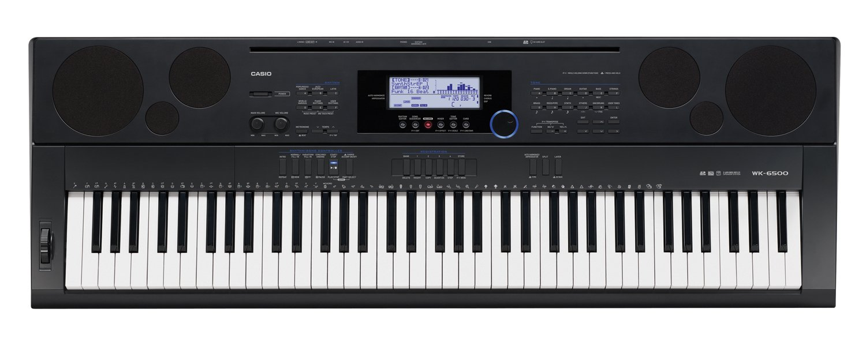 Casio WK6500 76 Key Touch Sensitive Workstation Keyboard by Casio