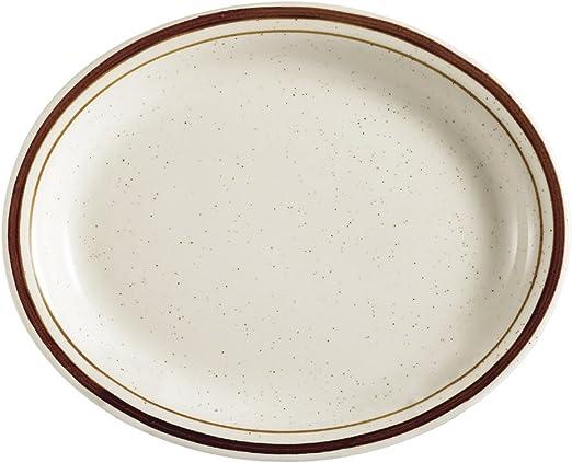 Amazon.com: cac China Az-14 Arizona café Rim Brown Speckled ...
