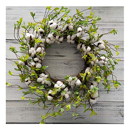 Cotton Wreath - 22
