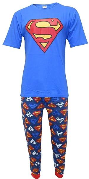 spedizione gratuita d7826 b0de6 Superman DC Comics Uomo Set due pezzi di pigiama