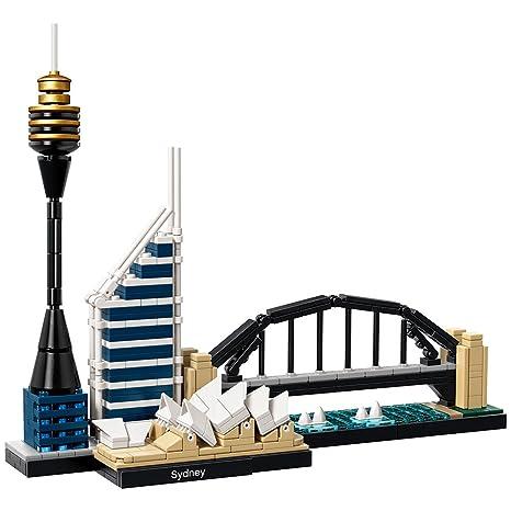Amazon.com: LEGO Architecture Sydney 21032 Skyline Building Blocks ...