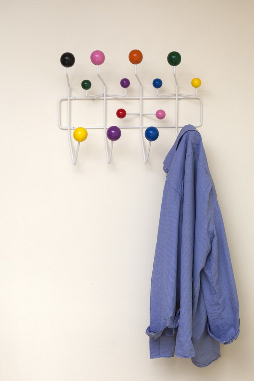 Aspect Hang It All Eames de Pared-para Planos Gancho para Colgar Abrigos de Colores