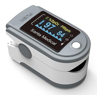 Santamedical Generation 2 SM-165 Fingertip Pulse Oximeter Review