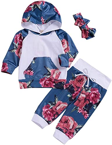 Memela Baby Clothes,Newborn Baby Girls Letter Print Long Sleeves Tops+Pants+Headband Outfits Sets
