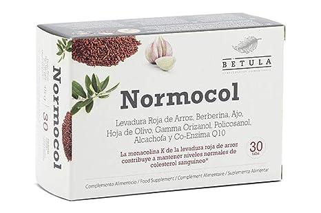 Betula - Normocol - Levadura Roja de Arroz, Berberina, Ajo ...