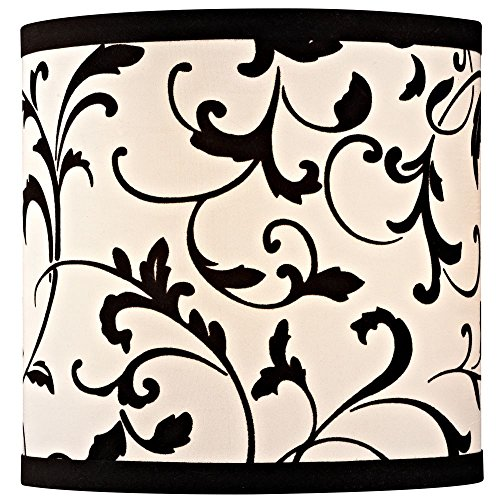 80%OFF Black Drum Lamp Shade with Uno Assembly