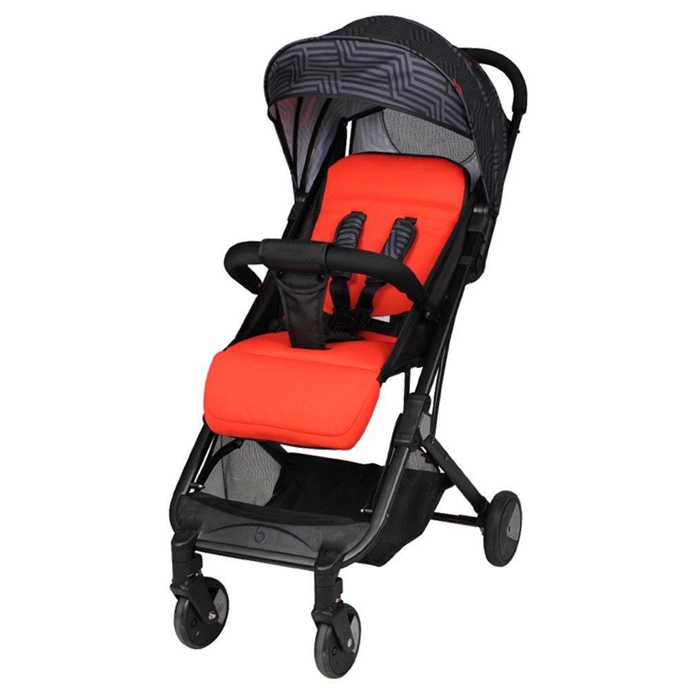 HAIZHEN マウンテンバイク プッシュチェアベビーカートの小さな折り畳み式の持ち運びに便利な6種類のカラー 新生児 B07CG9J27JE