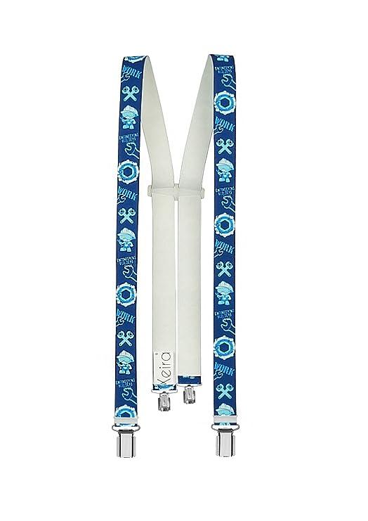 Xeira Hochwertige Hosenträger für Kinder mit 4 clips reg; - Made in Germany