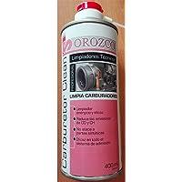 Suministros Orozco, s.l. Limpiador de Carburadores y Cuerpos