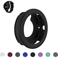 Garmin Vivoactive 3 GPS Smartwatch Replacement Band Cover Protector Sleeve, Feskio Soft Silicone Shock-proof and Shatter-resistant Sleeve Band Cover Protective Case Pouch for Garmin Vivoactive 3 Watch