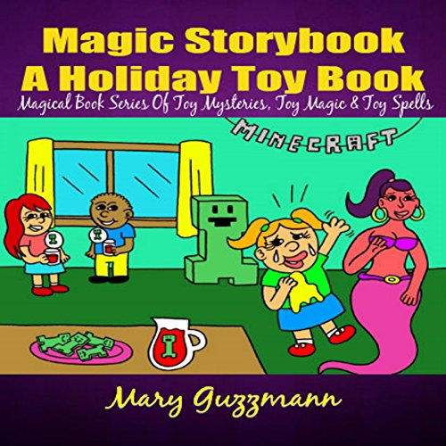 Magic Storybook: A Holiday Toy Book: Genie Lamp Magical Book Series of Spells, Book 1