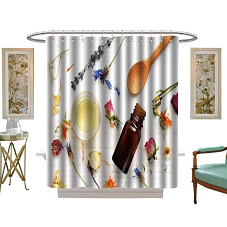 luvoluxhome Shower Curtain Collection by Essential Oil