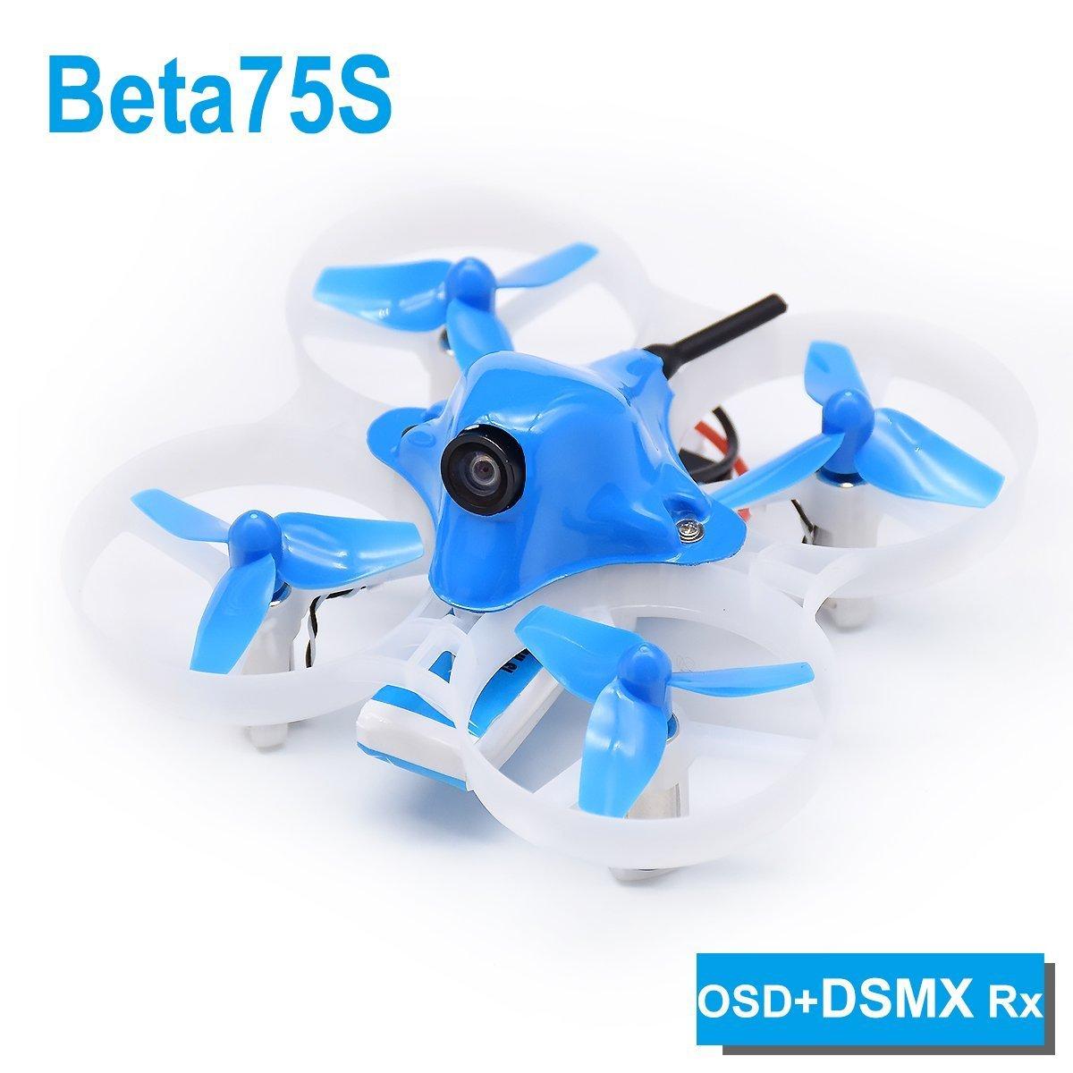 hasta un 60% de descuento BETAFPV Beta75S BNF Tiny Whoop Whoop Whoop Quadcopter DSMX Receiver with OSD for 8X20 Motor  todos los bienes son especiales