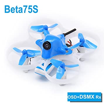 7b17004f45b BETAFPV Beta75S BNF Tiny Whoop Quadcopter DSMX Receiver with OSD for 8X20  Motor