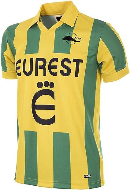 Copa FC Nantes 1994 95 Retro Football Shirt FC Nantes 1994