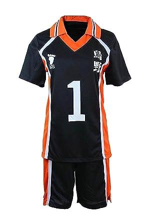 LYLAS Cosplay Costume Men s Sports Suits High School Jersey Uniforms (M ad0715628