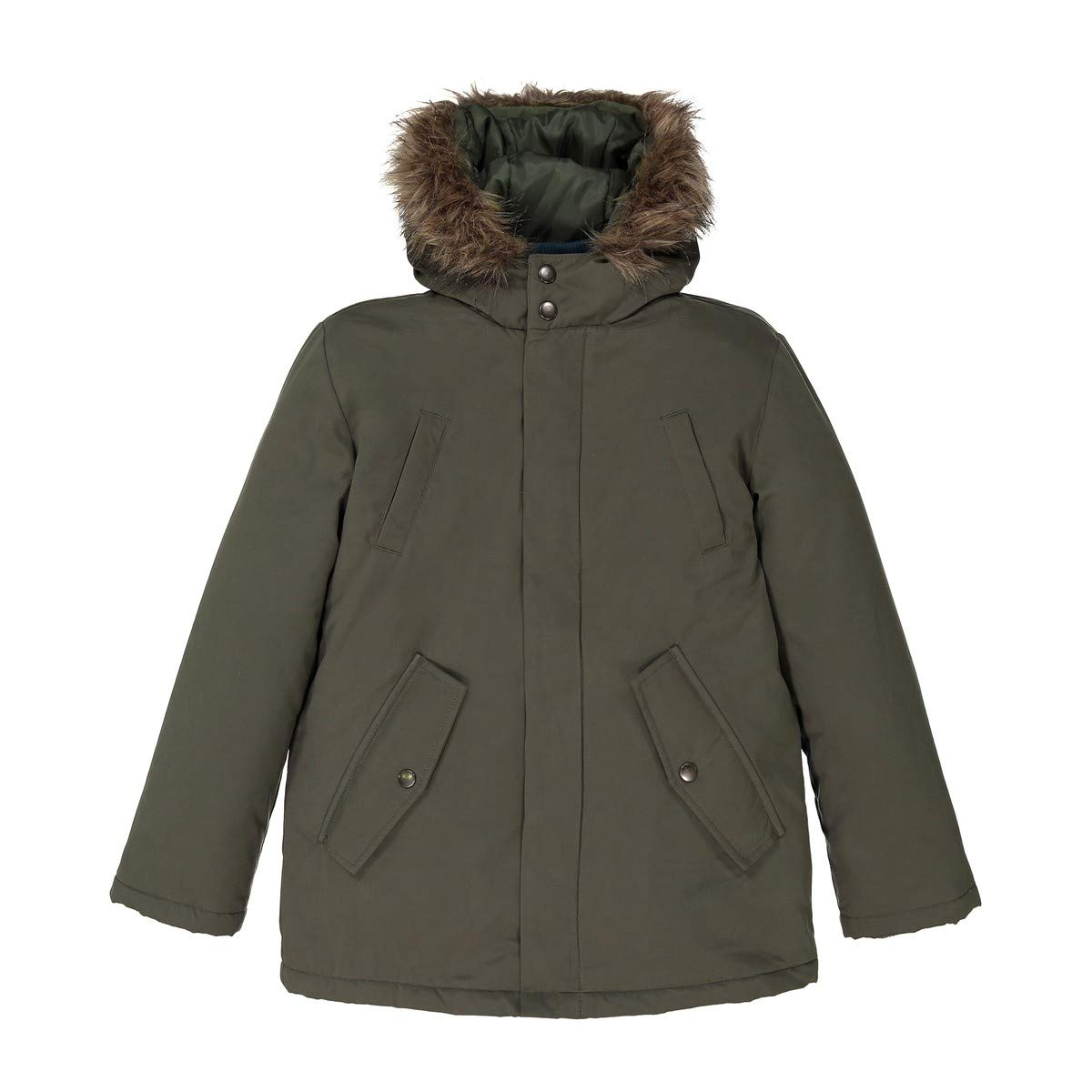 La Redoute Collections Big Boys 3-in-1 Parka, 3-12 Years Green Size 6 Years - 44 in. by La Redoute (Image #4)
