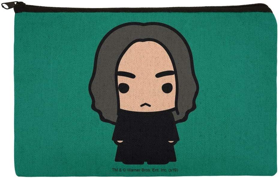 Harry Potter Snape Cute Chibi Character bolsa organizadora para cosméticos