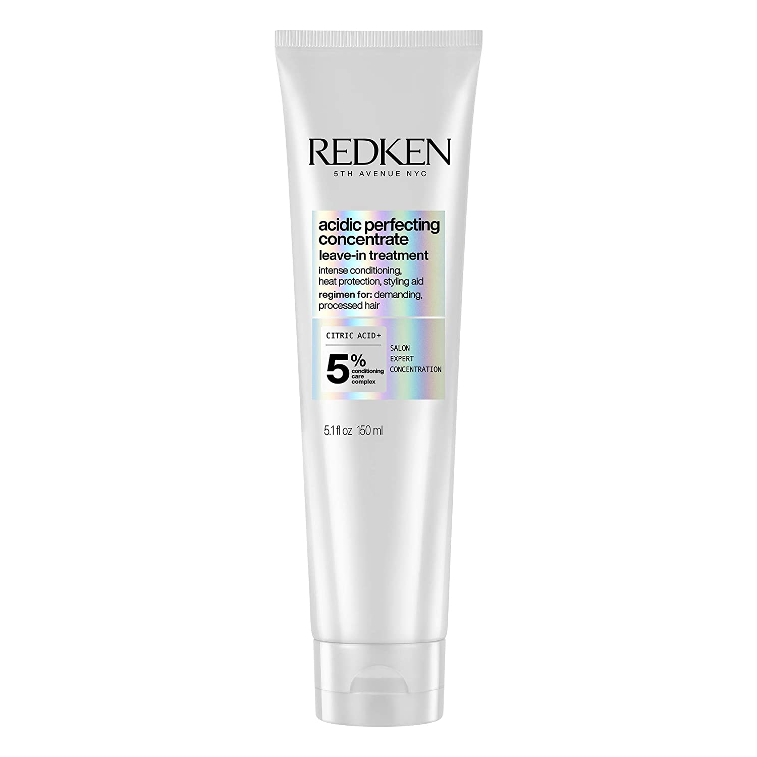 Redken Leave In Conditioner for Damaged Hair Repair | Acidic Perfecting Concentrate | For All Hair Types | Leave In Treatment