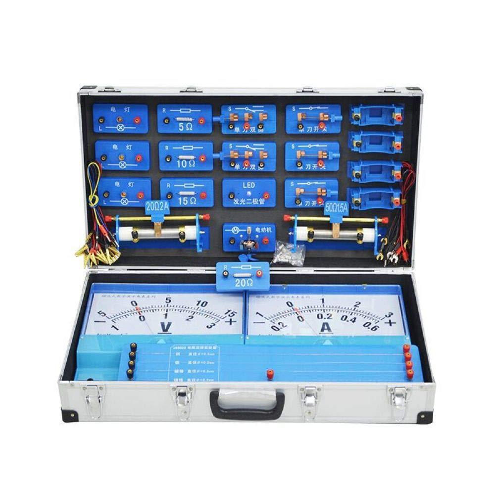 ジュラー ホワイト 教育玩具 STEMおもちゃ 科学キット 磁気 フリーサイズ 電気デモンストレーションボックス B07L8DG6JL 電気実験ボックス 教師デモンストレーション計器 ホワイト フリーサイズ B07L8DG6JL, 喬木村:23919722 --- bennynews.com