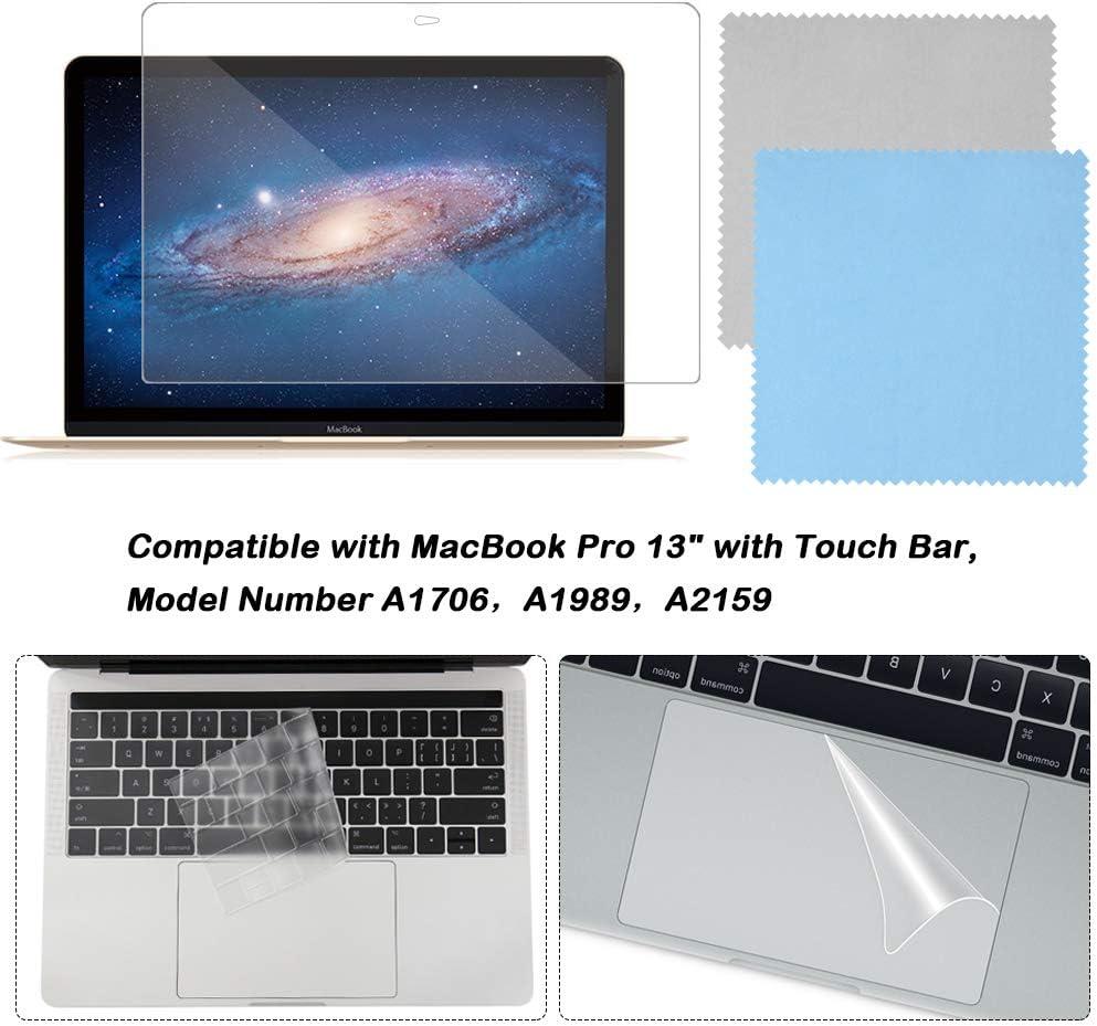 Kit de proteccion para MacBook Pro 13 Touch Bar A170A A1989
