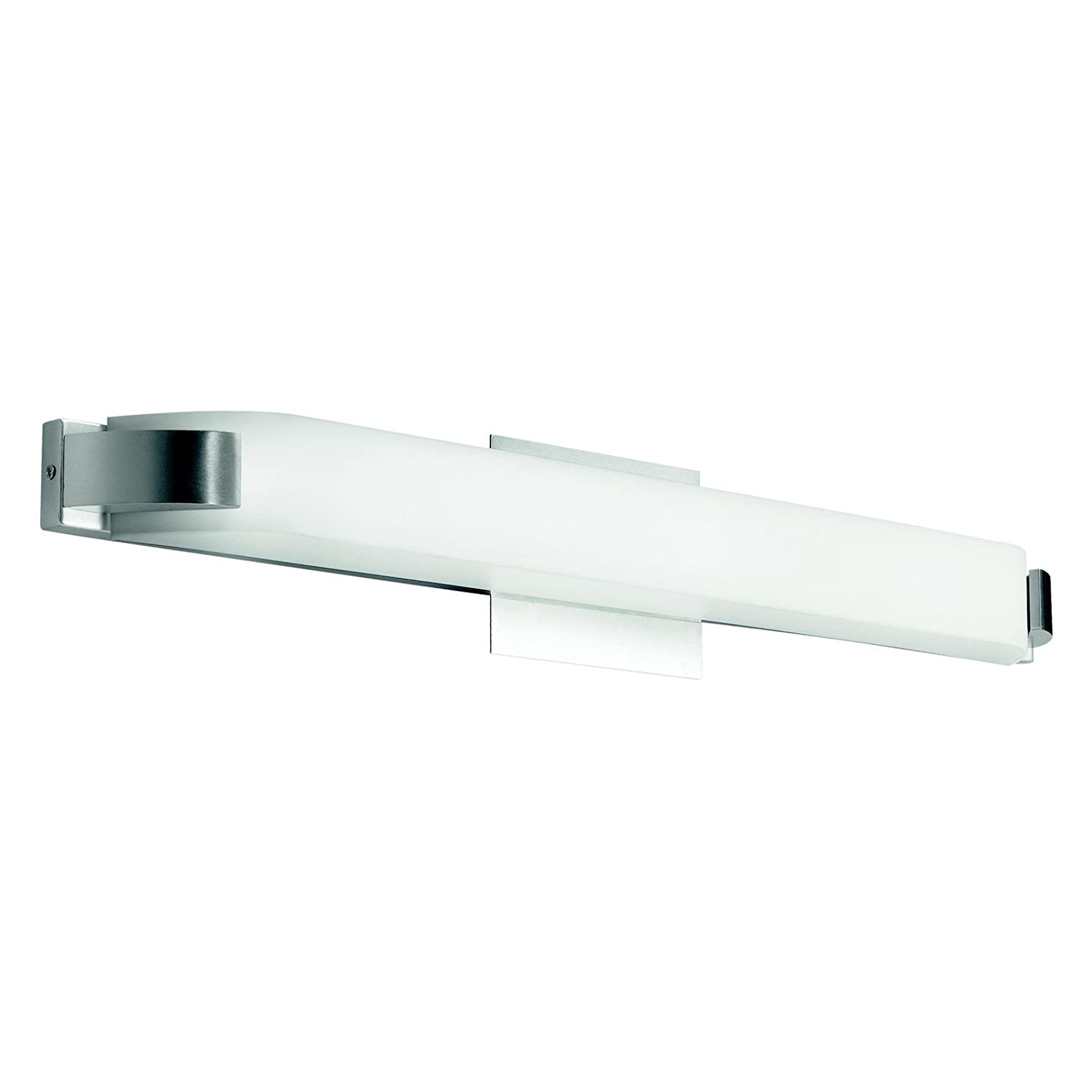 Kichler 10415NI One Light Linear Bath   Vanity Lighting Fixtures    Amazon.com