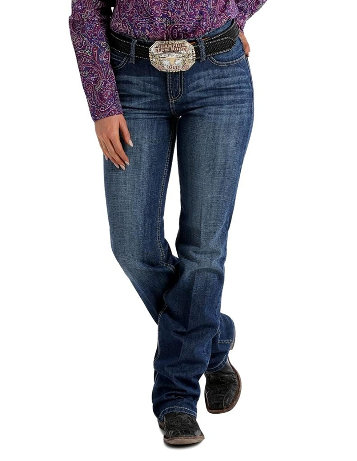 Cinch Jenna Relaxed Rodeo Riding Jean